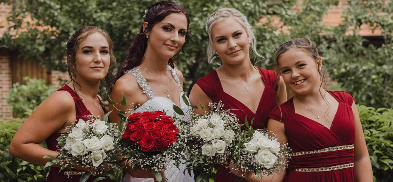 Bridemaids Wedding Makeup By Artistic Beauty In Nelson NZ